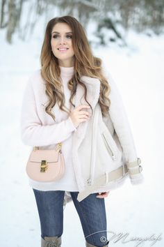 Light winter outfit.