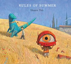 Front cover for 'Rules of Summer' by Shaun Tan – published by Hachette Australia
