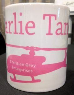 50 Shades of Grey Inspired Charlie Tango Christian Grey Enterprises Mug
