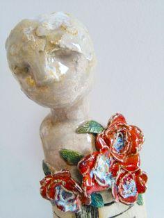 Figurative Ceramics Figurative, Snow Globes, Ceramics, Artist, Home Decor, Ceramica, Pottery, Decoration Home, Room Decor