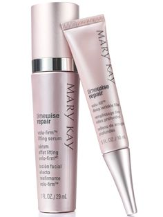 If you believe in yesterday, here's the perfect set. One immediately fills in deep wrinkles and makes them appear to be visibly plumped while the other helps provide the appearance of youthful firmness, volume and lift. Together, the future's looking good! Set includes: TimeWise Repair® Volu-Fill® Deep Wrinkle Filler TimeWise Repair® Volu-Firm® Lifting Serum