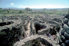 Let's take a walk through 3,000 years ff history: the Nuragic complex of Barumini, in Visit Sardinia, is simply amazing