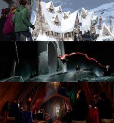 Harry Potter Film Concept Art by Andrew Williamson (Adam Brockbank)
