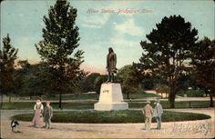 Bridgeport CT Elias Howe Statue