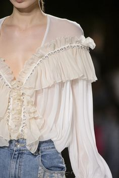This is such a romantic blouse!