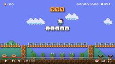 Hello Kitty joins Mario Maker, may possibly break Japanese-ness level-measuring equipment