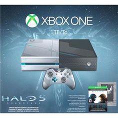 Console Xbox One 1TB Edição Exclusiva Halo 5: Guardians (Download Via Xbox Live)