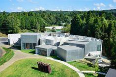 arisekkei renews ichihara lakeside museum in japan - designboom | architecture