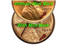 Why Doesn't my Lincoln Penny Have a Mint Mark?: Lincoln Cent With and Without Mint Mark