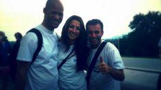 Team Mate massage #hauteroute Thierry, Anne Laure, José