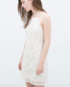 TIE NECK DRESS-Mini-Dresses-WOMAN | ZARA United States