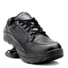 Z-Coil-Legend-S-R-FW-K2000-men-039-s-Size-12-Black-Leather-Lace-up