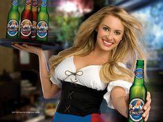 Picture of Bobbi Sue Luther St Pauli Girl Beer, Angela Little, Beer 101, Beer Girl, Girl Posters, Beer Recipes, Light Beer, Best Beer