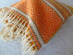 Vintage Faribo Mills Wool Blanket Wool Throw Camping by rubisco, $49.95
