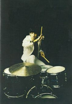 Keith Moon 23 August 1946 – 7 September 1978 musician best known as the drummer of the Who; noted...