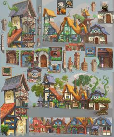 ArtStation - Planet Coaster Concept art, Gerald Fitzgerald
