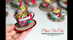 """Paper Tea Cup 