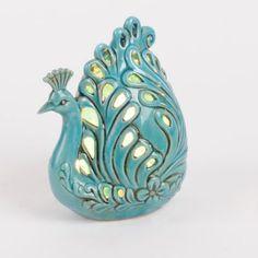 Ceramic Peacock Night Light | Kirkland's
