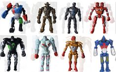 8pcs/lot  Cool Real Steel Characters Zeus Atom Midas Noisey Boy Action Figures Toy Children's 13cm Toys Gifts for Kids //Price: $US $13.79 & FREE Shipping //     #rchelicopters