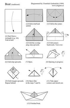 8 Meilleures Idees Sur Pliage Bateau Pliage Bateau Pliage Origami