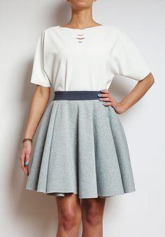 design,art,fashion,dresses,spódnica,bluzka