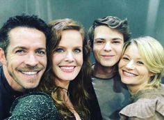 Sean, Bex, Robbie and Emilie
