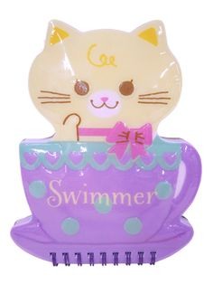 Notepad - ぷっくりリングメモ キャット - SWIMMER ONLINE SHOP
