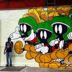 "@tschelovek_graffiti on Instagram: ""Работа Jerkfase в Нью-Йорке. #incarceratedjerkfaces #jerkface #graffiti #mural #streetart #urbanart #wallart #граффити_tschelovek #граффити #стритарт"""