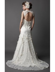1000+ images about Grandmas wedding dress on Pinterest  Open back ...