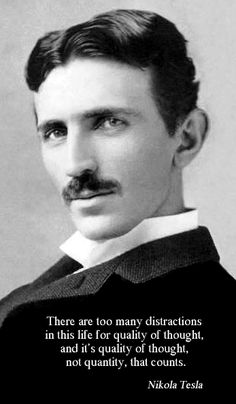 "Words of wisdom from Nikola Tesla: ""There is no conflict between the ideal of religion and the ideal of science, but science is opposed to theological dogmas because science is founded on fact. Nikola Tesla Quotes, Great Quotes, Inspirational Quotes, Genius Quotes, Nicolas Tesla, Art Visage, Albert Einstein, Motivation, Wise Words"
