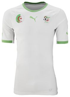 Algeria Home Kit for World Cup 2014 #worldcup #brazil2014 #algeria #soccer #football #ALG