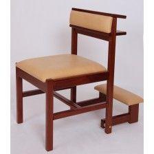 Cadeira com Genuflexório