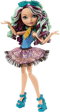 Ever After High Mirror Beach Madeline Hatter Doll - http://www.kidsdimension.com/ever-after-high-mirror-beach-madeline-hatter-doll/