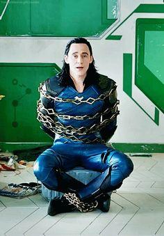 Tom Hiddleston as Loki in the new trailer for Thor: Ragnarok.