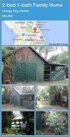 2-bed 1-bath Family Home in Orange City, Florida ►$53,900 #PropertyForSaleFlorida http://florida-magic.com/properties/62336-family-home-for-sale-in-orange-city-florida-with-2-bedroom-1-bathroom