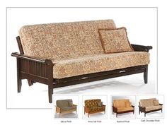 Full Size Venice Futon Bed Package by Night & Day