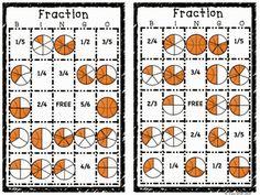 Mixed Numbers and Improper Fractions Bingo | Fractions, Bingo and ...