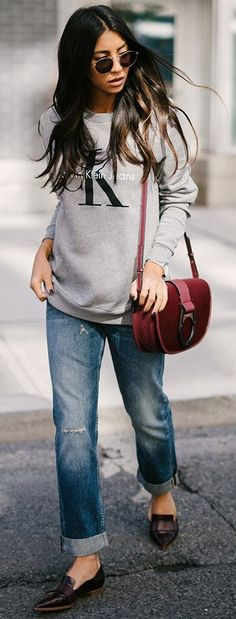 Casual Look Of The Day Source
