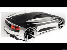 Sketch de Segunda Audi Quattro Concept by Ernest Tsarukyan — Car Design HUE Audi Quattro, Car Design Sketch, Car Sketch, Automobile, Diesel, Industrial Design Sketch, Motorcycle Design, Car Drawings, Transportation Design