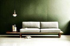 dk3 Plank Sofa from dk3. Designed by Norwegian designers Hindernes/Berg/Knudsen&Myhr in cooperation with unique Danish flooring specialist DINESEN. www.dk3.dk