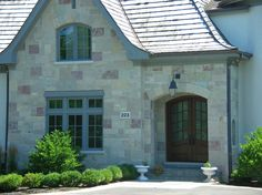 Chilton Royal Chateau stone from Eden Stone. Photo used with permission from Eden Stone Company. Exterior, Cabin, Stone, House Styles, Outdoor Decor, Home Decor, Rock, Decoration Home, Room Decor