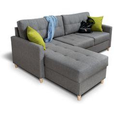 Rohová sedací souprava OSLO 3 Lux 05+22 Oslo, Couch, Furniture, Home Decor, Luxury, Settee, Decoration Home, Sofa, Room Decor