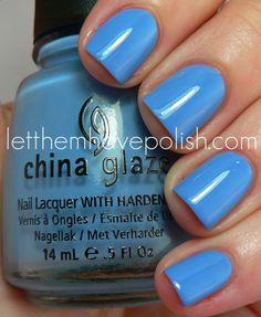 China Glaze - Electric Beat (Electropop Collection—Spring 2012)