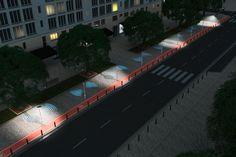 На Всемирном конгрессе ITS в Бордо компания Continental презентовала концепцию будущего уличного освещения, которое уже проходит испытание. Новинка от Continental представляет собой интеллектуальный уличный свет, который распознает, кто движется по улице – пешеход, автомобиль или велосипедист, и обеспечивает соответствующее освещение дороги.