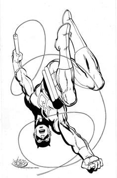 Daredevil by John Byrne. Check out Pete's review of Andy Schmidt's The Insider's Guide To Creating Comics and Graphic Novels here: http://chaptersandscenes.wordpress.com/2014/03/16/pete-reviews-the-insiders-guide-to-creating-comics-and-graphic-novels/