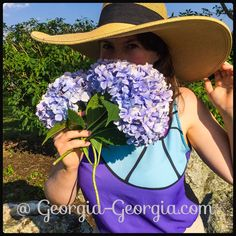Because August is fabulous and so are hydrangeas keep it chic @ Georgia-Georgia.com