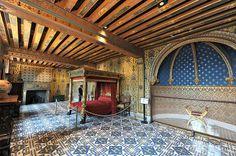 Château de Blois - Aile François 1er - chambre du Roi
