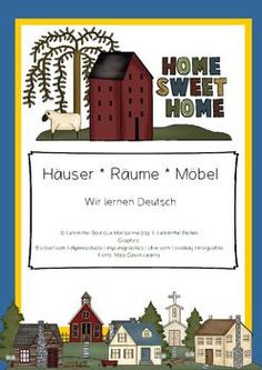 Activities and games to teach and reinforce the German house vocabulary (houses, rooms, furnitures)