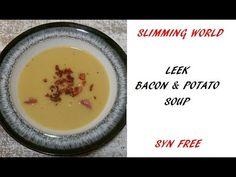 My Leek Bacon & Potato Syn Free Slimming World Style Soup Recipe - Tastefully Vikkie