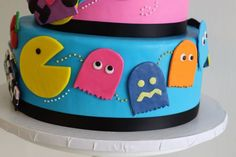 80's cake    http://www.mysweetandsaucy.com/tag/80s-themed-cake/